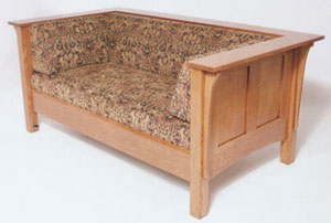 Shaker Sofa With Reversed Panel Sides