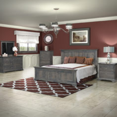 Willowton Bedroom Suite - Hand Crafted Amish Furniture